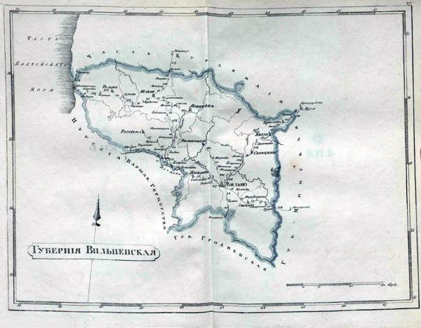 Vilniaus gubernija 1808