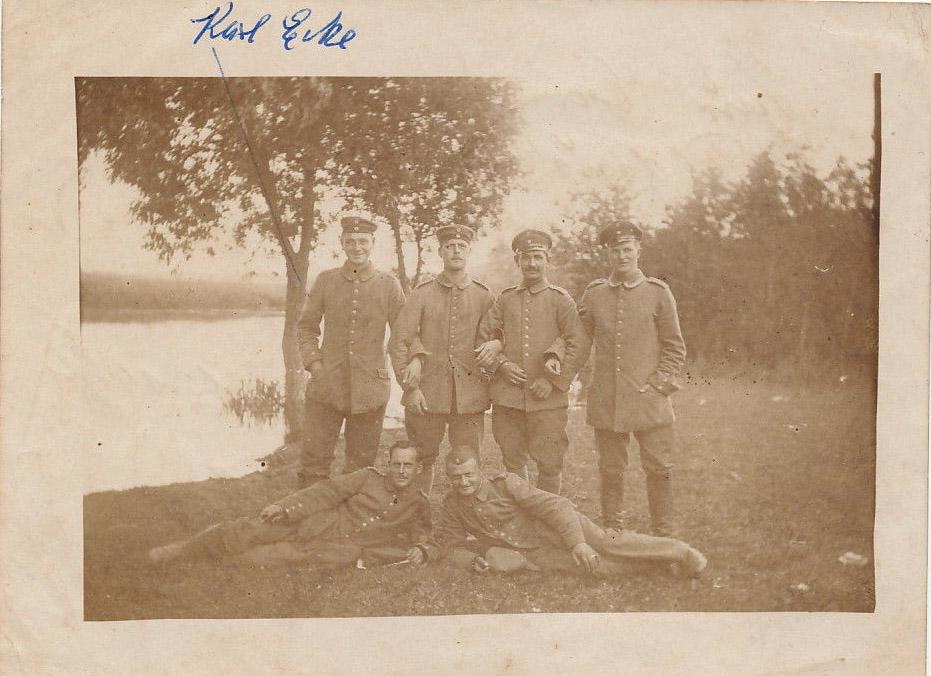 Kalvarija, vokiečių kariai