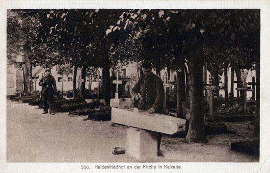 Kalvarija Pirmojo Pasaulinio karo vokiečių karių kapinės