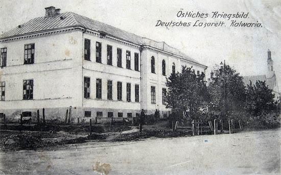 Kalvarijos ligoninė 1914