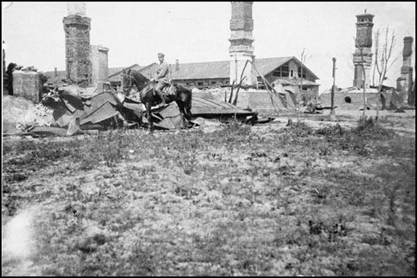 Sugriauta Kalvarija 1915