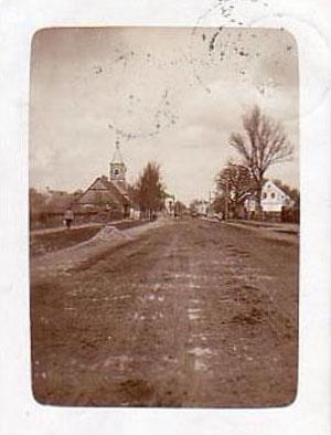 Kalvarija Dariaus ir Girėno gatvė