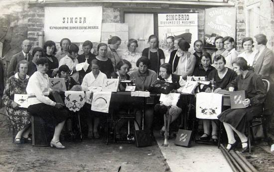 Kalvarija, Siuvimo kursai 1929