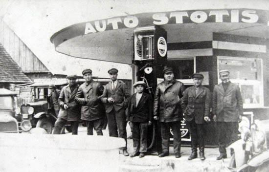 Kalvarija Autobusų stotis 1930-31