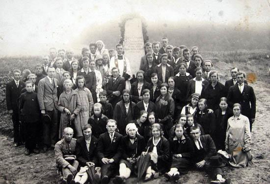 Kalvarija Jurgežeriai 1929 m.