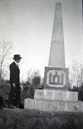 Kalvarija, Laisvės paminklas 1928