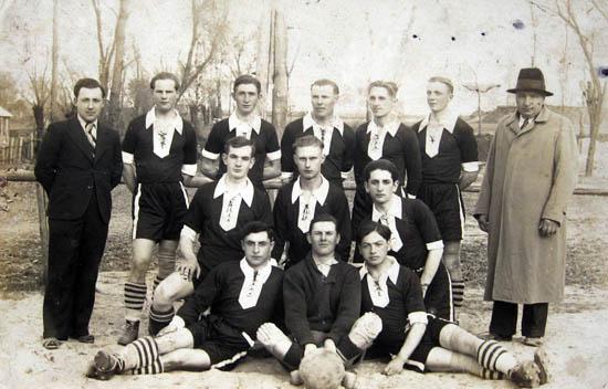 Kalvarija 1938. Futbolo komanda