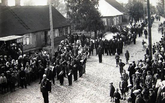 Kalvarija 1932 ugniagesiai