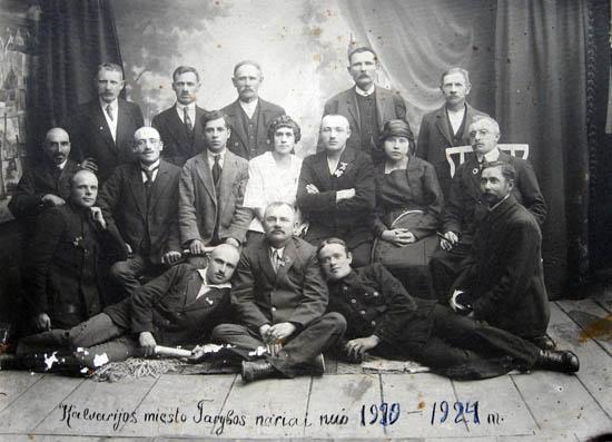 Kalvarija 1920-1924 taryba