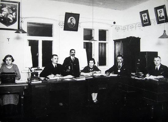 Kalvarija 1938 tarnautojai