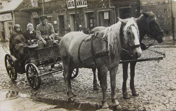 Kalvarijos miestas 1930