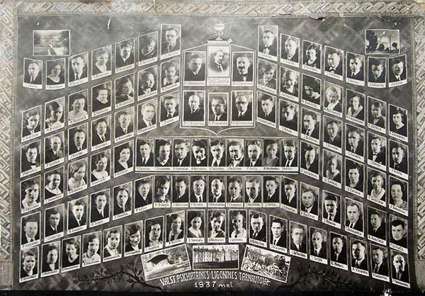 Kalvarijos valstybinės psichiatrinės ligoninės tarnautojai