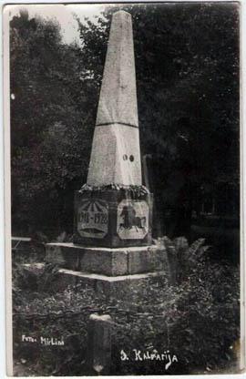 Kalvarija Laisves paminklas