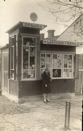 Kalvarija Spaudos kioskas