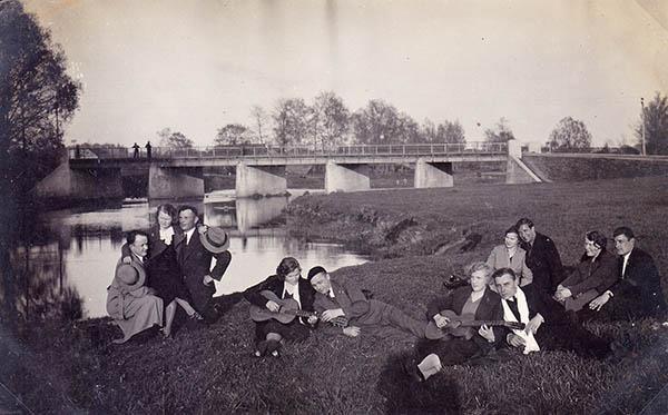Kalvarija Tiltas 1932