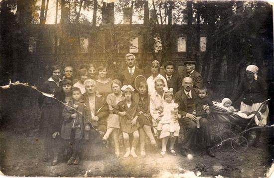 Kalvarijos psichiatrinė ligoninė 1927