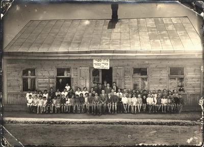 Kalvarija 1928 žydų mokykla