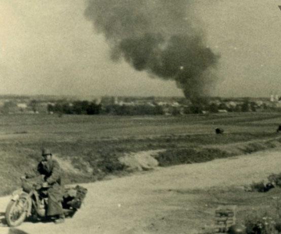 Pirmoji Antrojo Pasaulinio karo diena Kalvarija