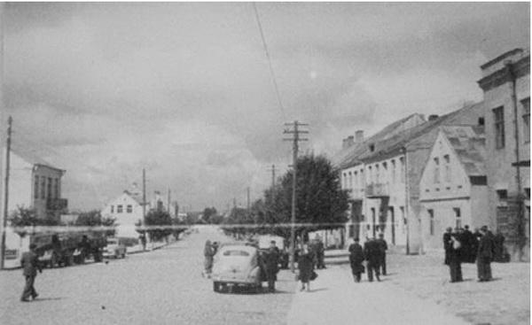 Kalvarija 1954