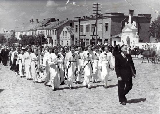 Kalvarija 1955