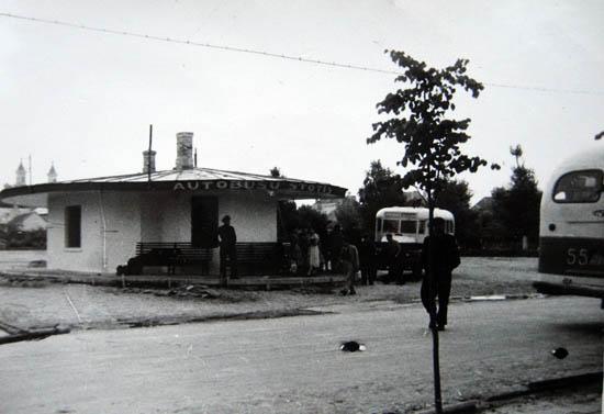 Kalvarija 1959. Autobusų stotis