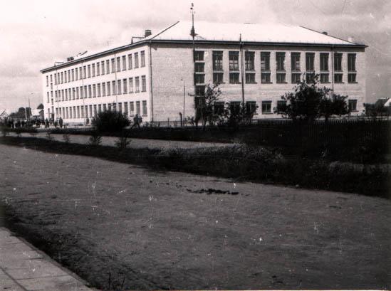 Kalvarijos vidurinė mokykla 1967-1968