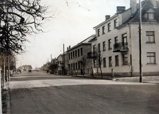 Kalvarija, Čiarniachovskio gatvė 1961 m.