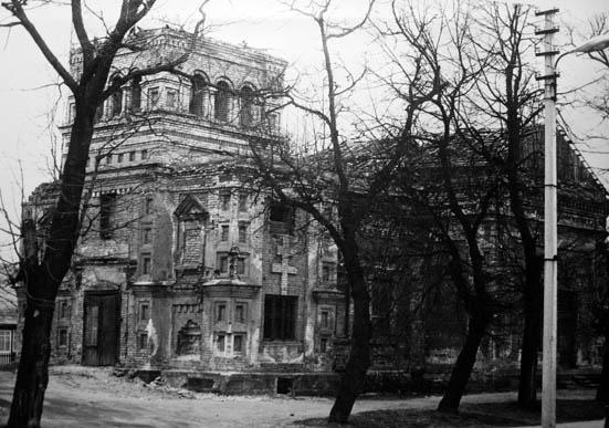 Kalvarija, stačiatikių cerkvė 1983 m.