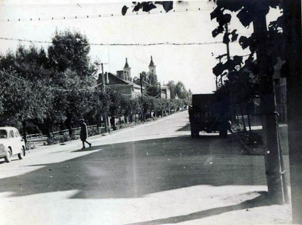 Kalvarijos centrinė gatvė