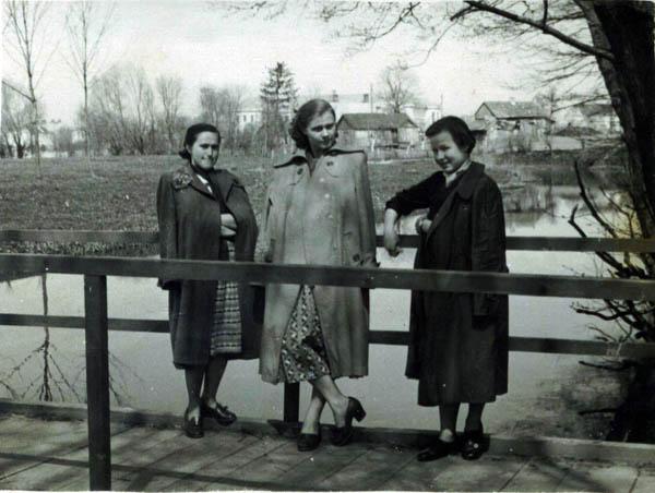 Kalvarijos vaizdas nuo Karaliskojo parko apie 1960
