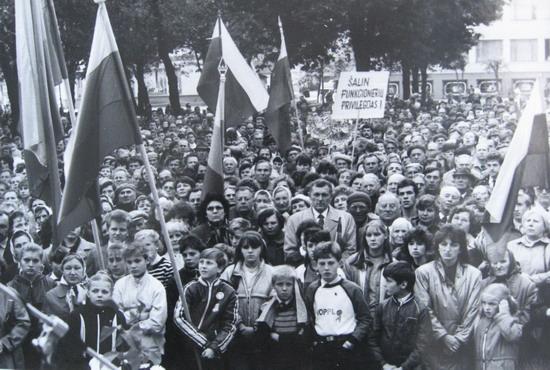 Kalvarija 1988. Pirmasis Sąjūdžio mitingas