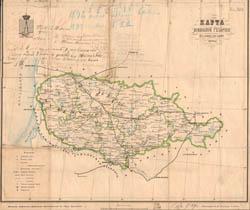 Kauno gubernija 1878 m.