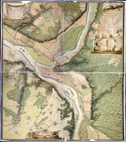 kauno miesto planas 1797