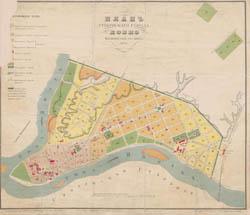 Kauno planas 1875