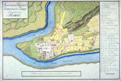 Kauno miesto planas 1798