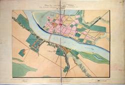 Kauno miesto planas 1837