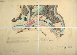 Kauno miesto planas 1838