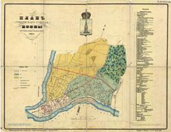 Kaunas city Plan 1904