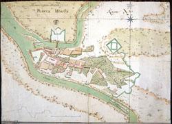 kauno miesto planas 1774