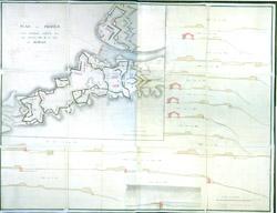Kauno tvirtovės planas 1796