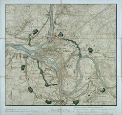 Kauno tvirtovės planas 1904