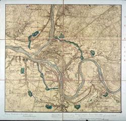 Kauno tvirtovės planas 1907