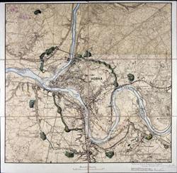 Kauno tvirtovės planas 1912