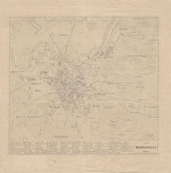 Plan Wilna 1856