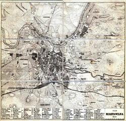 Vilniaus miesto planas 1859