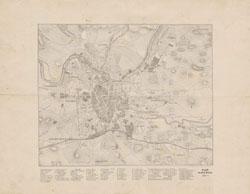 Plan miasta Wilno 1881