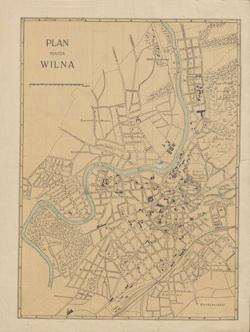 Vilniaus miesto planas 1916