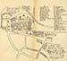 Plan city Vilnius 1672