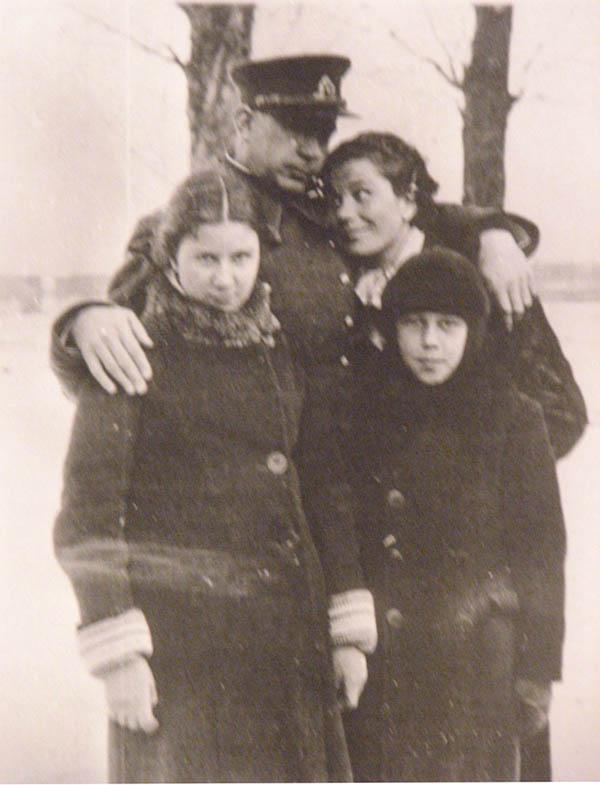 Kučingis su šeima