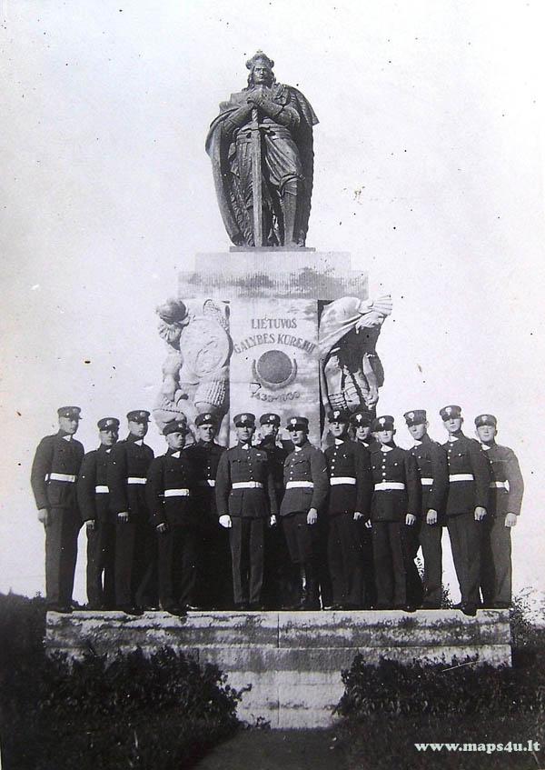 10 laidos aspirantai Karo mokykloje 1934